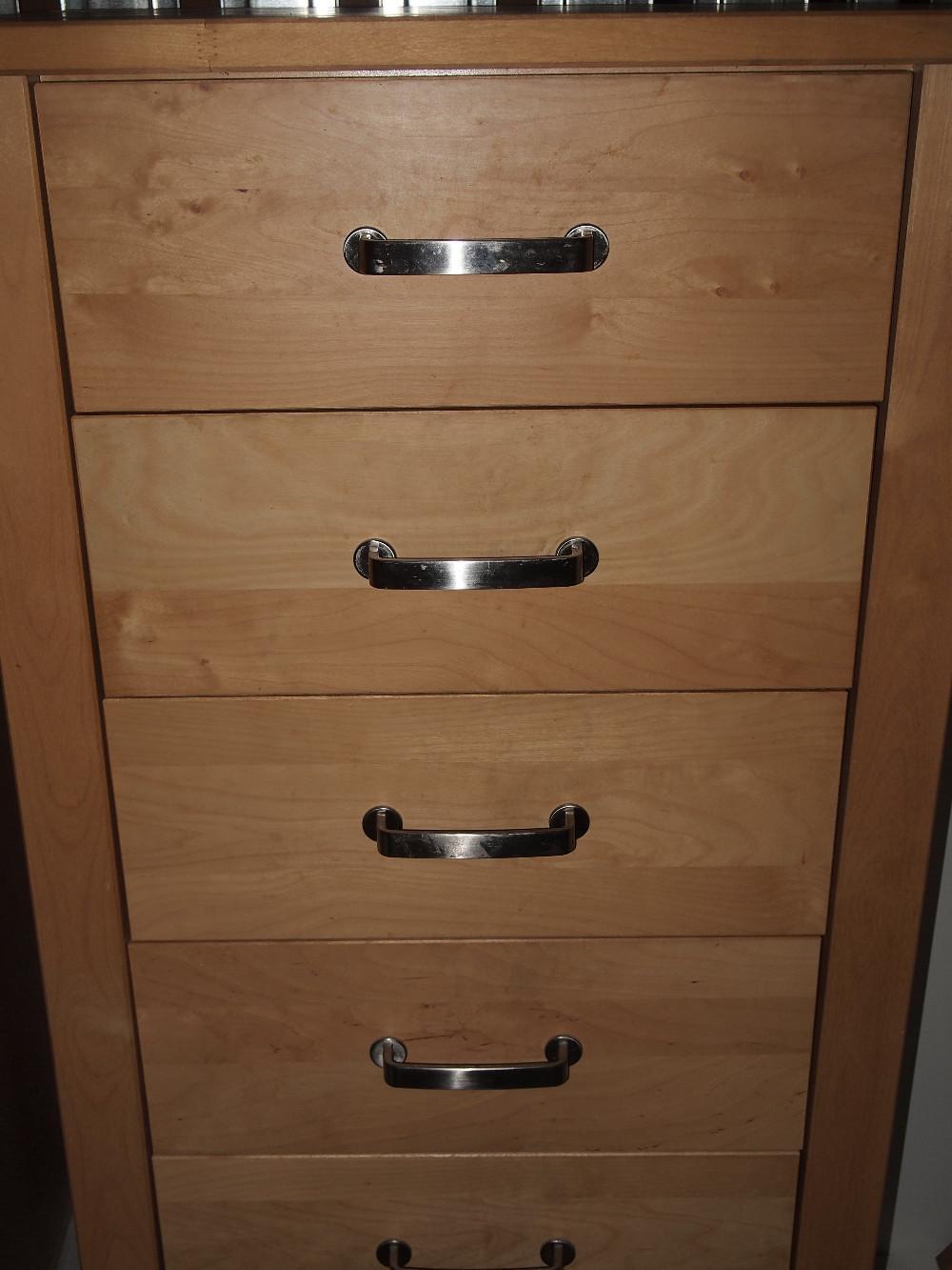 Schubladenschrank Birke Massiv Ikea Värde 850271
