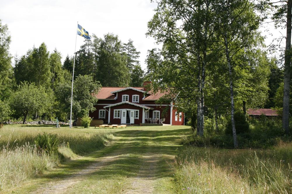 schweden ferienhaus direkt am see incl boot kanu 397291. Black Bedroom Furniture Sets. Home Design Ideas