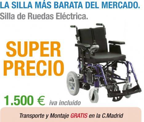 Sillas de ruedas electricas baratas transportes de for Sillas baratas segunda mano