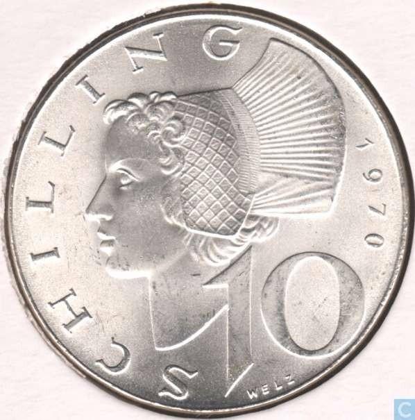 Suche 10 Schilling Münze 898263