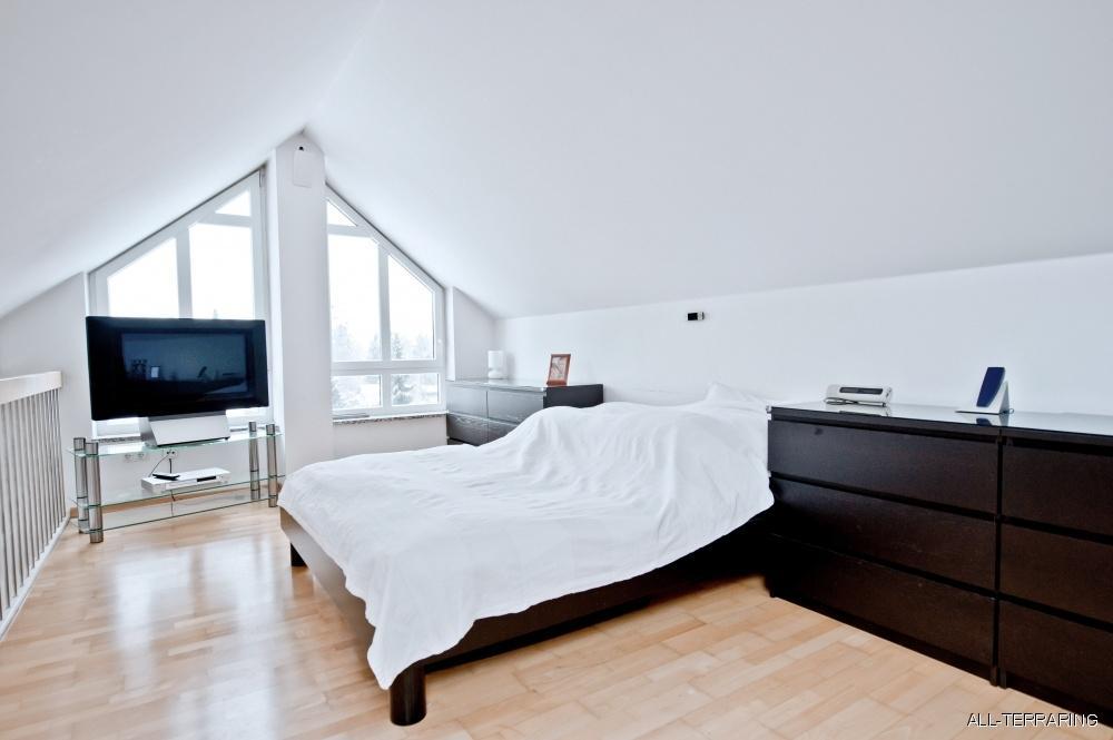 Traum unterm dach lichtdurchflutete dachgeschoss - Galerie schlafzimmer ...