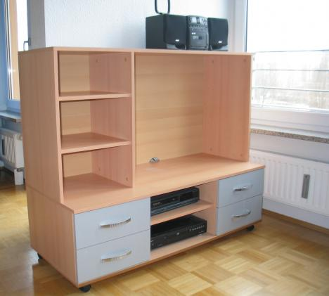 tv schrank auf rollen selbstabholer 4301. Black Bedroom Furniture Sets. Home Design Ideas