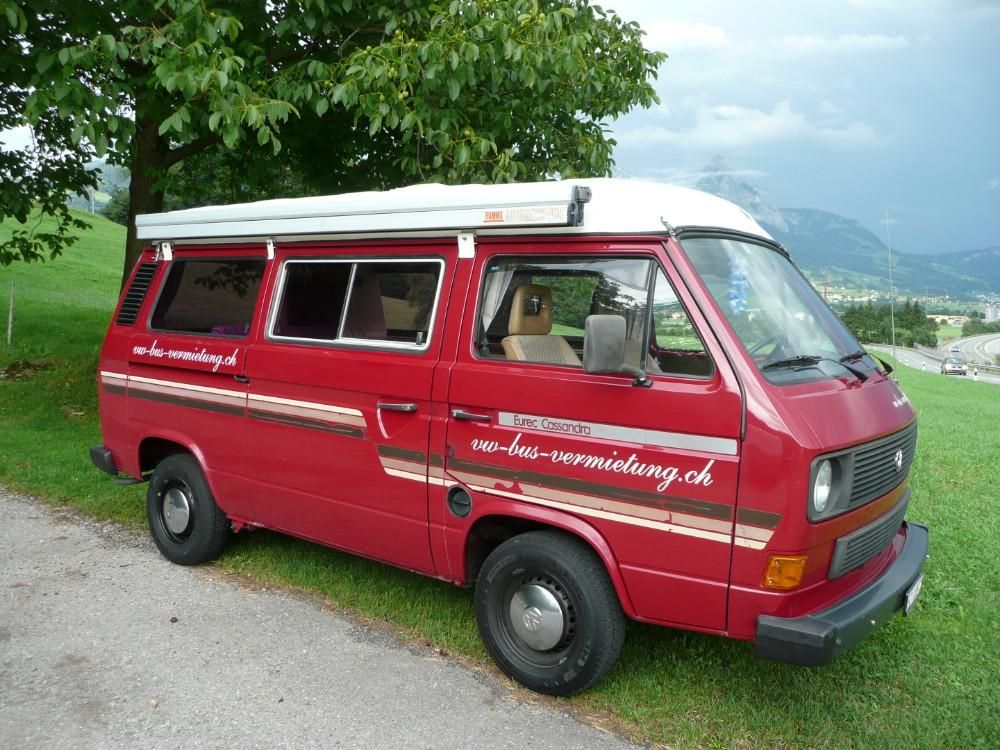 vw bus t3 cassandra camper mieten 813848. Black Bedroom Furniture Sets. Home Design Ideas