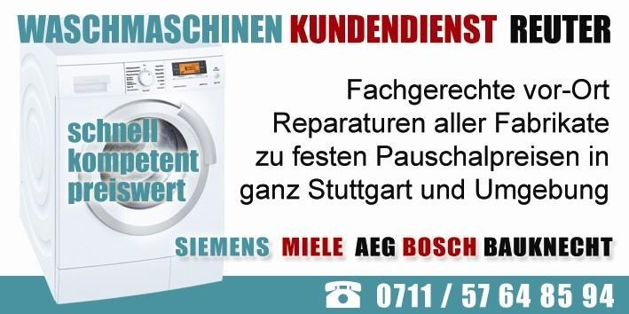 waschmaschinenreparatur stuttgart anfahrt und kva 17. Black Bedroom Furniture Sets. Home Design Ideas