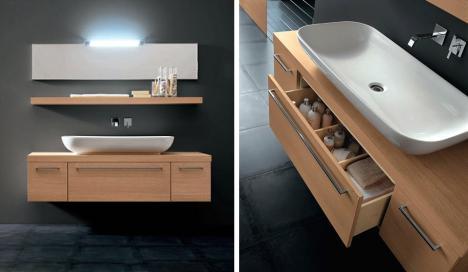 waschtisch metropolis eiche hell 206775. Black Bedroom Furniture Sets. Home Design Ideas