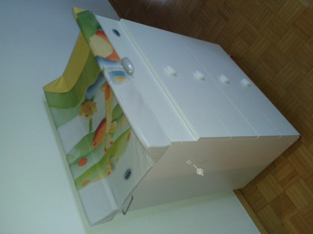 wickelkommode mit badewanne 868249. Black Bedroom Furniture Sets. Home Design Ideas