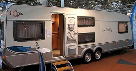 Etagenbett Für Wohnwagen : Wohnwagen travelking rdk