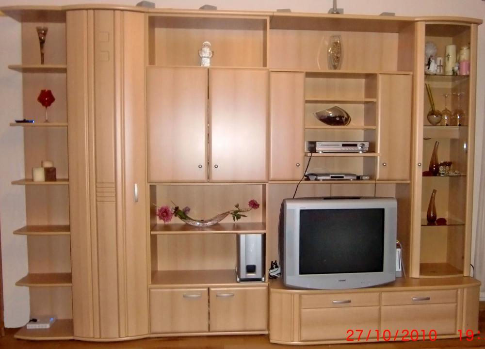 Wohnwand Buche 359301