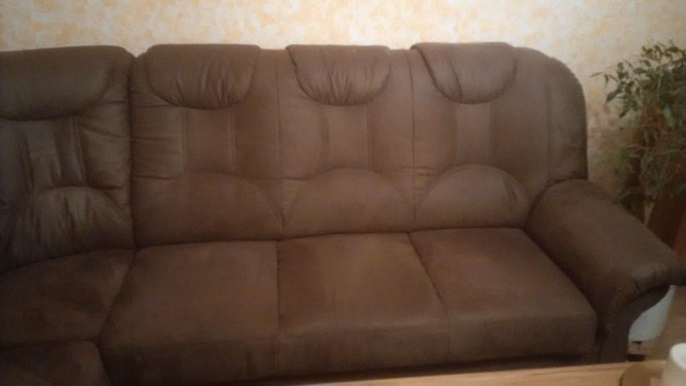 Wohnzimmer-Couch braun - 915242