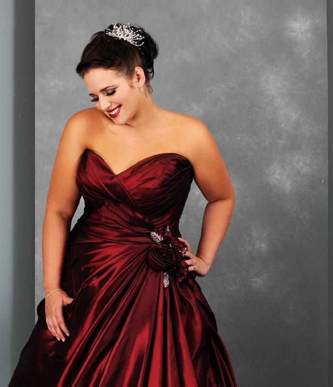 Wunderschöne Hochzeitskleider in grossen Grössen - 860905