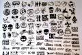 Massive Stickerpack 120. Stk, Vinylaufkleber